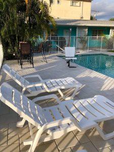 White Horse Motel Swimming Pool