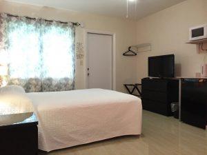 White Horse Motel - Motel room view-White Sheets - Bedroom